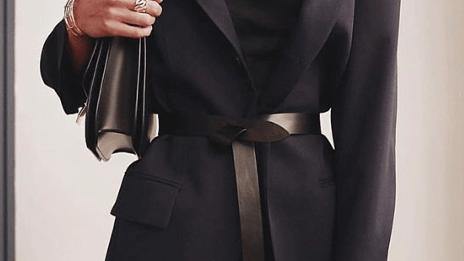 ✅ El blazer negro y para seguir las tendencias de la temporada sólo necesitas optimizar el que cuelga en tu armario